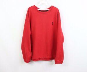 Vintage 90s Guess Mens 2XL XXL Stitched Question Mark Logo Crewneck Sweatshirt