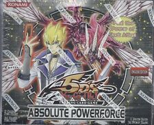 Yu-Gi-Oh! Absolute Powerforce Sellado Edición Ilimitada Booster Box (yugioh)