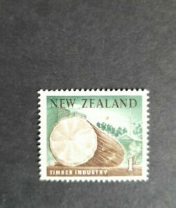 New Zealand stamp def. 1960 1s VGU. Timber industry