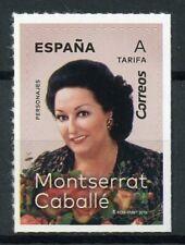 Spain 2019 MNH Montserrat Caballe Soprano Singer 1v S/A Set Music People Stamps