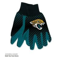 Jacksonville Jaguars Logo Handschuhe Utility Gloves NFL Football NEU !