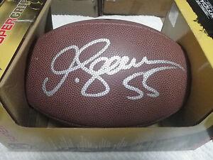 JUNIOR SEAU AUTOGRAPH SIGNED WILSON NFL FOOTBALL AUTO LOS ANGELES CHARGERS COA