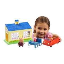 Peppa Pig School and & Family Car Playset