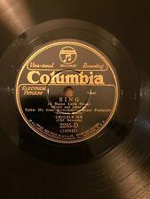 Columbia record 78 Joseph Lieber Philharmonic X Chor