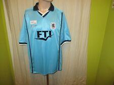 """TSV 1860 München Original Nike Heim Trikot 2002/03 """"FTI"""" Gr.L Neu"""