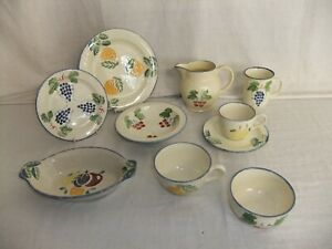 c4 Studio Design Poole - Dorset Fruit -  hand painted pottery, many designs 4C2A
