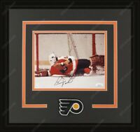 Bernie Parent Autographed Framed 8x10 Photos Philadelphia Flyers JSA