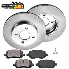 Front Brake Rotors And Metallic Pads For Chevy Cobalt Saturn Ion Pontiac G5