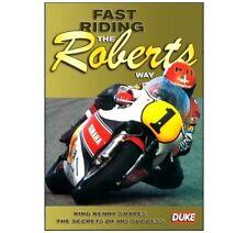 FAST RIDING THE ROBERTS  DVD - King Kenny Motorbike MotoGP by Duke - SAVE 30%