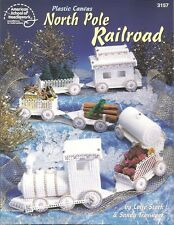 North Pole Railroad Plastic Canvas Pattern Instruction Train Cars ASN 3157 NEW