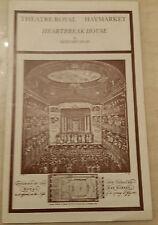 Theatre Royal Haymarket: Rex Harrison Diana Rigg Simon Ward in HEARTBREAK HOUSE