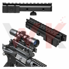 Tactical Tri-Rail Picatinny Weaver Mount Carry Handle Side Rails See Through