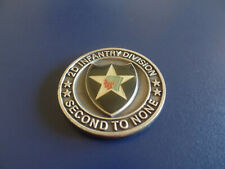 2D INFANTRY DIVISION SECOND TO NONE WARRIOR SPIRIT CHALLENGE COIN