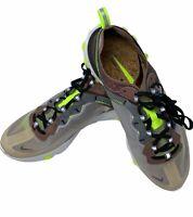 Nike React Element 87 Desert Sand AQ1090-002 Men's Size 9.5