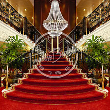 10X10 Digital Printed Backgrounds (GRAND STAIRCASE #001) Timeless Backdrops