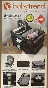 Baby Trend Simply Smart Nursery Center Whisper Grey New In Box