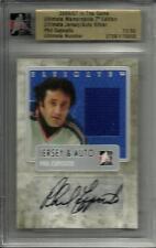 Phil Esposito 06/07 Ultimate Memorabilia Autograph Game Used Jersey #11/50
