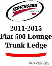 3M Scotchgard Paint Protection Film Pre-Cut Trunk Kit 2011 2015 Fiat 500 Lounge