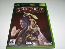 Jade Empire Limited Edition Xbox Original PAL *Complete* Bonus Content