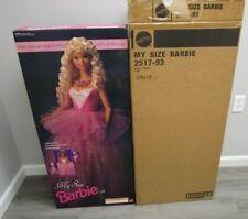 "My Size Life 36"" 3 Feet Tall 1992 BARBIE Mattel NEW Sealed Vintage w SHIPPER"