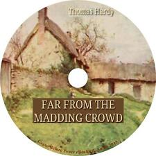 Far From The Madding Crowd, Thomas Hardy English Feminist Audiobook on 1 MP3 CD