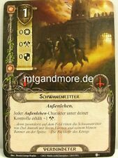 Lord of the Rings LCG  - 2x Schwanenritter  #004 - Die Furcht des Truchsess