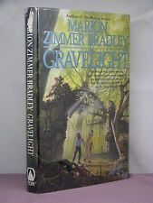 1st, signed by 2, Gravelight by Marion Zimmer Bradley and Rosemary Edghill (1997