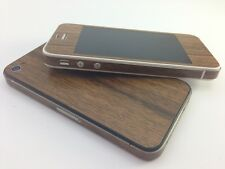 Textured Wood Skin For iPhone 4 4s Decal Sticker Wrap Protector Cover Case