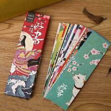 30pcs/lot Kawaii Paper Bookmark Retro Japanese Style Marks Stationery Book S1D1