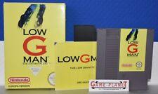 LOW G Man The Low Gravity Man Nintendo NES emballage d'origine