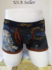 Ed Hardy Collection Death or Glory Men's  Boxer Briefs Size Large