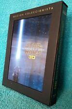 STAR WARS: EL DESPERTAR DE LA FUERZA 3D blu-ray + 2 de extras. Edición colección