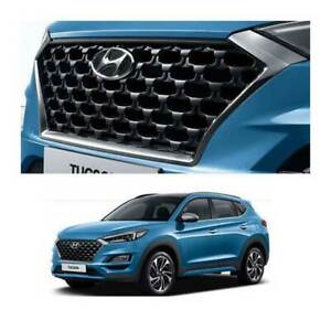 D3863 AP100 Front Radiator Hood Grille for 2018 2019 Hyundai All New Tucson