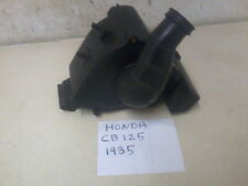 HONDA CB125 RSD 1985 GOOD AIR BOX AND CARB RUBBER 1980s classic honda