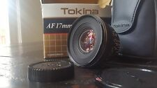 Tokina AT-X PRO 17mm F3.5 Aspherical MF AF Lens For Nikon w/ Case