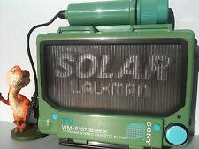 SONY WM-F107 Solar Walkman Radio Cassette Player Kassettenspieler solaire Green