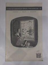WHATEVER HAPPENED TO BABY JANE Complete Pressbook 24 Pgs 11x17 Bette Davis 1263