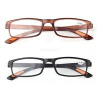 Reading Glasses +1.0 1.50 2.0 3.0 4.0 Optical Lens Black Brown Frame Eyeglasses