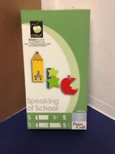 Cricut Cartridge - Speaking Of School - Gently Used - Complete