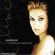 CD audio ../...CELINE DION.../...LET'S TALK ABOUT LOVE.....