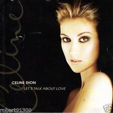 CD audio ../...CELINE DION.../...LET'S TALK ABOUT LOVE.....