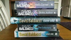 The Camel club 5 book series by David Baldacci