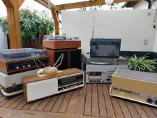 RFT  KONVOLUT  DDR Radios, Plattenspieler, Boxen , Kompaktanlage SC1900.  LESEN