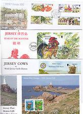 Jersey FDCs Auswahl mehrfache Auflistungen - ihrer Wahl (2003-12)