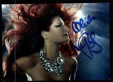 Andrea Berg Autogrammkarte Original Signiert ## BC 54639