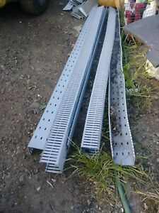 """Panduit 1"""" X 3"""" Wireway Duct 3' slotted wiring channel 2pc"""