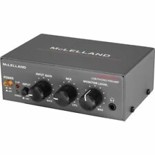 Brand new MCLELLAND PHONO PREAMP WITH USB INCL GAIN CONTROL