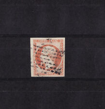 timbre France  Napoléon III  40c  jaune orange de 1853    num: 16  oblitéré