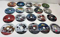 Lot Of 20 Playstation 2 Games Discs Only Harry Potter, Madden, Cars, Pac Man