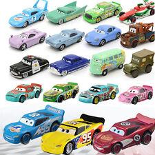 Cars 3 Disney Pixar 1:55 Metal Diecast Chick Hick Mcqueen Sally Mater Kids Toy
